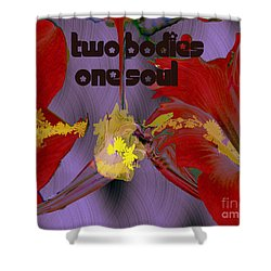 Polinating Shower Curtain