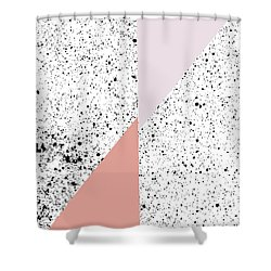 Polka Art Shower Curtain
