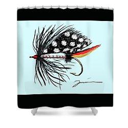 Polka Dot Pike Shower Curtain
