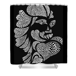 Polkadot Lover Shower Curtain