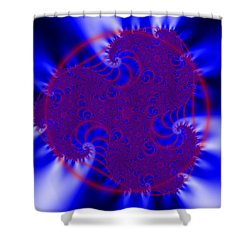 Pollfengra Shower Curtain