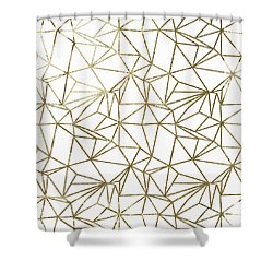 Polly Universe II Shower Curtain