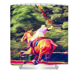 Polo Game 2 Shower Curtain
