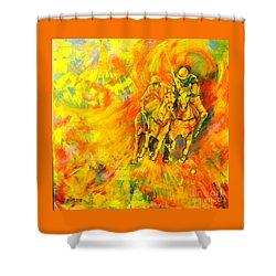 Poloplayer Shower Curtain