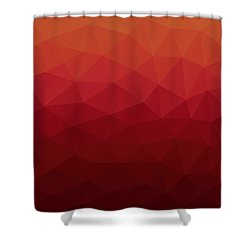 Polygon Shower Curtain
