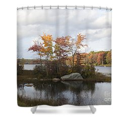Ponaganset Autumn 2015 Shower Curtain