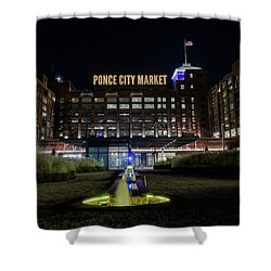 Ponce City Market Shower Curtain
