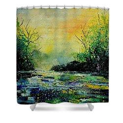 Pond 459060 Shower Curtain by Pol Ledent