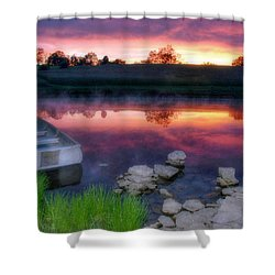 Pond Dreams 9 Shower Curtain