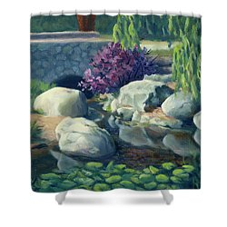 Pond Of Reflection Shower Curtain