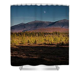 Pondicherry Wildlife Refuge Shower Curtain