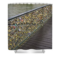 Pont Des Artes Shower Curtain