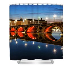 Shower Curtain featuring the photograph Pont Neuf In Toulouse by Elena Elisseeva