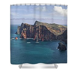 Punta San Lorenzo  Shower Curtain