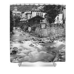 Ponte Di Legno  Shower Curtain