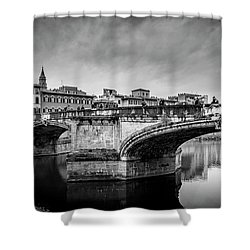 Ponte Santa Trinita Shower Curtain