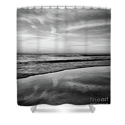 Ponte Vedra Cloud Dance Shower Curtain