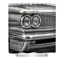 Pontiac Corner Shower Curtain