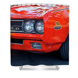 Pontiac G T O Judge 1969 Convertible Shower Curtain