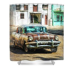 Pontiac Havana Shower Curtain
