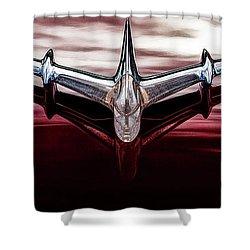 Shower Curtain featuring the photograph Pontiac Star Chief by Brad Allen Fine Art