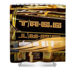 Pontiac Trans Am Shower Curtain
