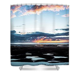 Pools Shower Curtain