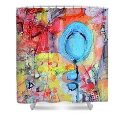 Pools Of Calm Shower Curtain
