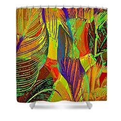 Pop Art Cannas Shower Curtain