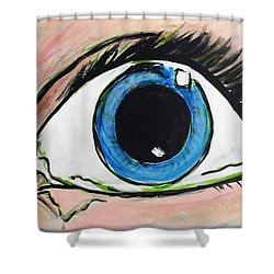 Pop Art Eye Shower Curtain