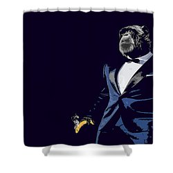 Pop Fiction Shower Curtain