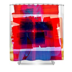 Pop Nude Shower Curtain