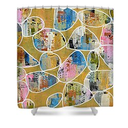 Pop The Champagne Shower Curtain
