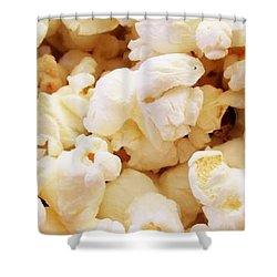 Popcorn 2 Shower Curtain by Martin Cline