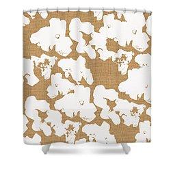 Popcorn- Art By Linda Woods Shower Curtain