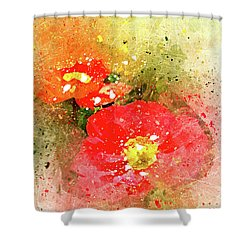Poppies 5 S Shower Curtain