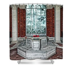 Poppies At Dunkirk Shower Curtain