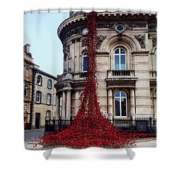 Poppies - City Of Culture 2017, Hull Shower Curtain