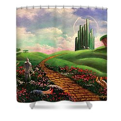 Poppies Will Make Them Sleep Shower Curtain