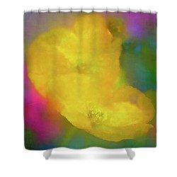 Poppy 28 Shower Curtain by Pamela Cooper