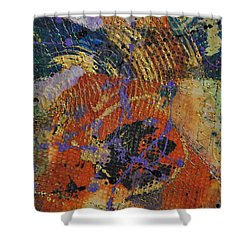 Poppy Papers Shower Curtain