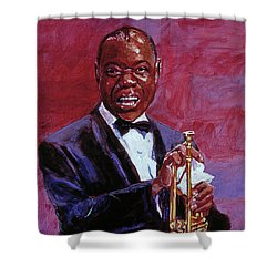 Pops Armstrong Shower Curtain