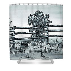 Popular Street Shower Curtain