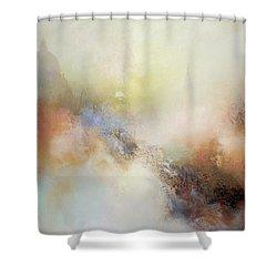 Porcelain Shower Curtain