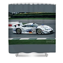 Porsche 911 Gt1 Strassenversion Shower Curtain