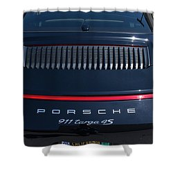 Porsche 911 Targa 4s Shower Curtain