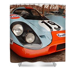 Porsche 917 Shower Curtain