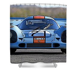 Porsche 917 Shorttail Shower Curtain