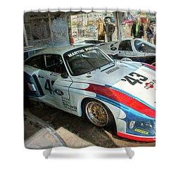 Porsche 935 Moby Dick Shower Curtain