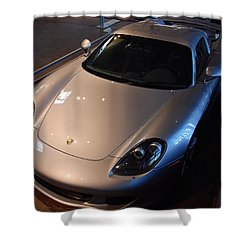 Porsche Carrera G T Shower Curtain